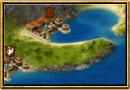 Skærmbillede fra Grepolis - Kort